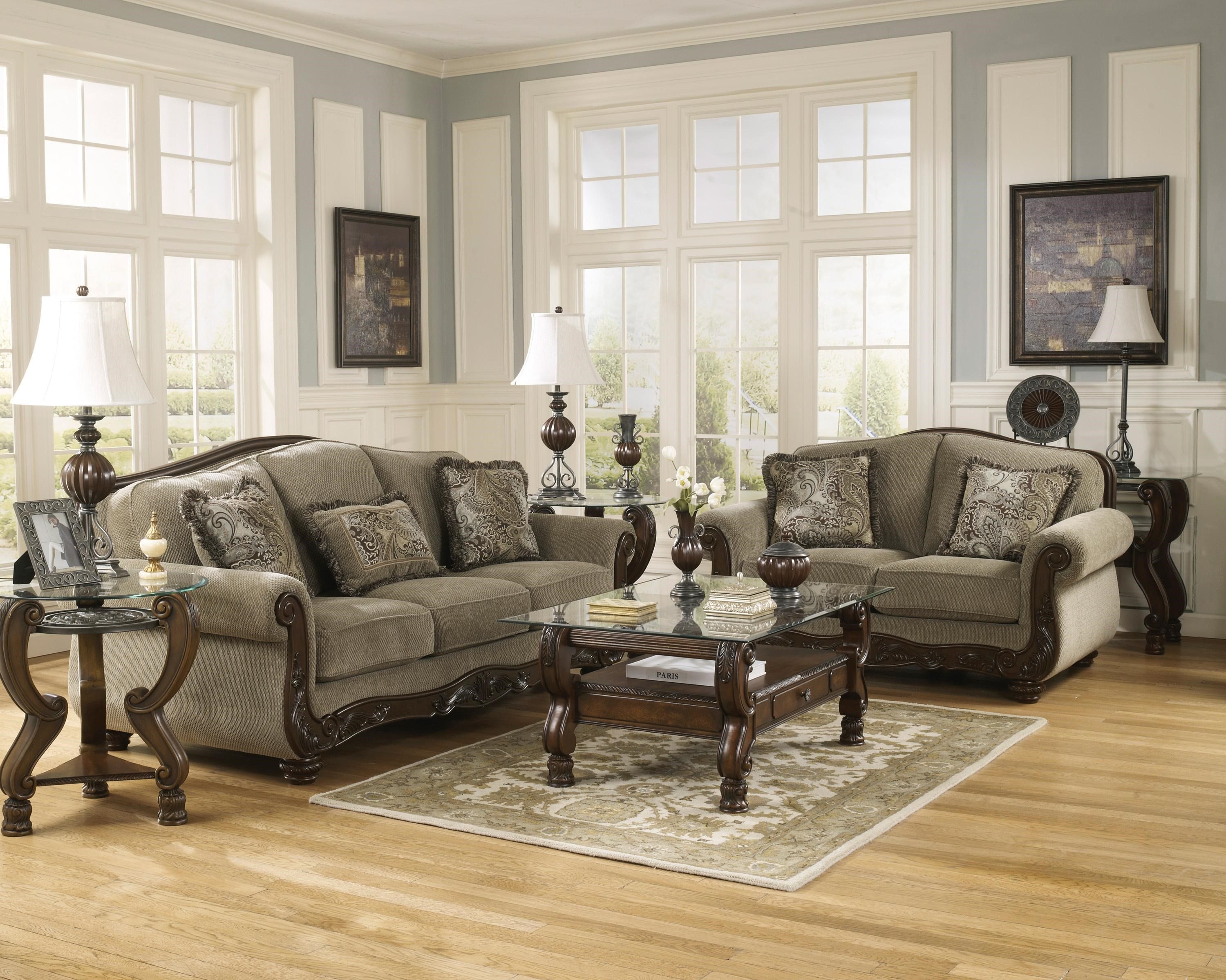 Signature Design by Ashley Martinsburg Meadow Sofa