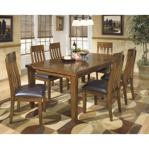 Signature Design By Ashley Ralene 7 Pc Dining Set Royal Furniture Dining