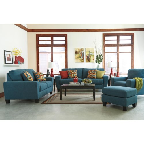 Sagen Stationary Living Room Group