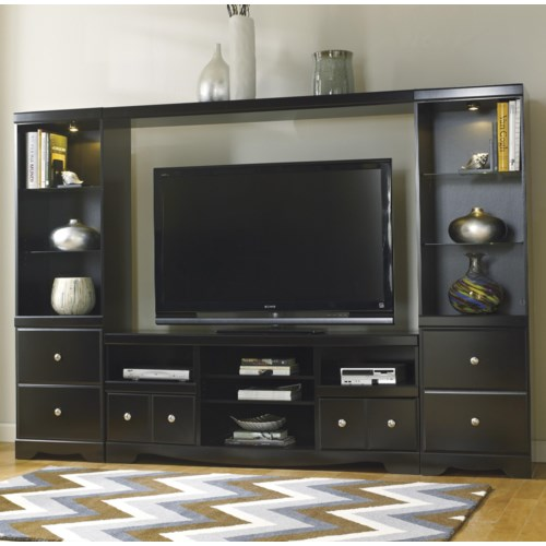 Signature Design by Ashley Shay Entertainment Wall Unit