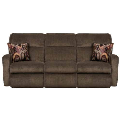 Southern Motion Savannah Contemporary Styled Double Reclining Sofa For Family Rooms Colder 39 S