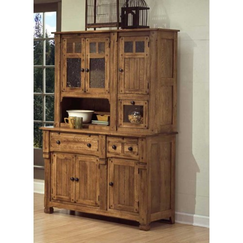 Sedona buffet and hutch - Dining room chairs china hutch designs ...