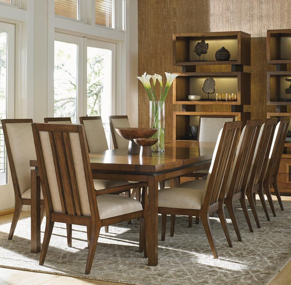 Tommy Bahama Home Island Fusion 11 Piece Dining Set : Baeru0026#39;s Furniture : Dining 7 (or more ...