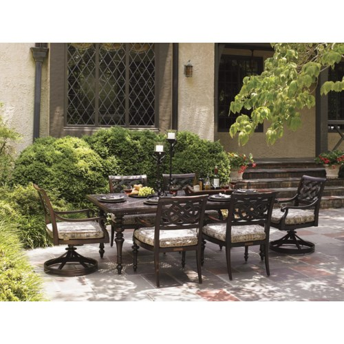 outdoor dining set tommy bahama outdoor living black sands outdoor