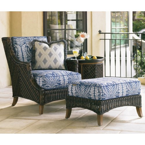 Tommy Bahama Outdoor Living Island Estate Lanai Outdoor Lounge Chair Ottoman Baer 39 S