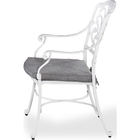 Set of 2 Outdoor Dining Chair