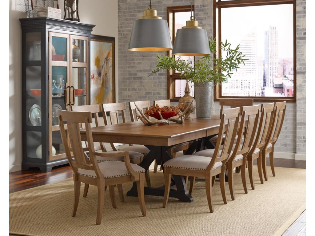 Kincaid Furniture Stone RidgeFormal Dining Room Group