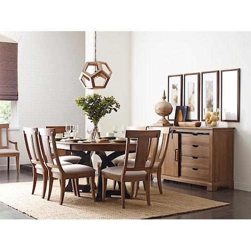 Kincaid Furniture Stone Ridge Casual Dining Room Group
