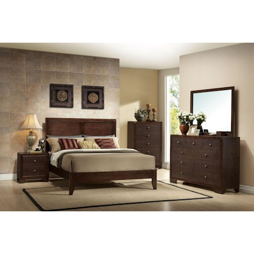 Acme Furniture Madison King Bedroom Group Furniture Superstore Rochester Mn Bedroom Group