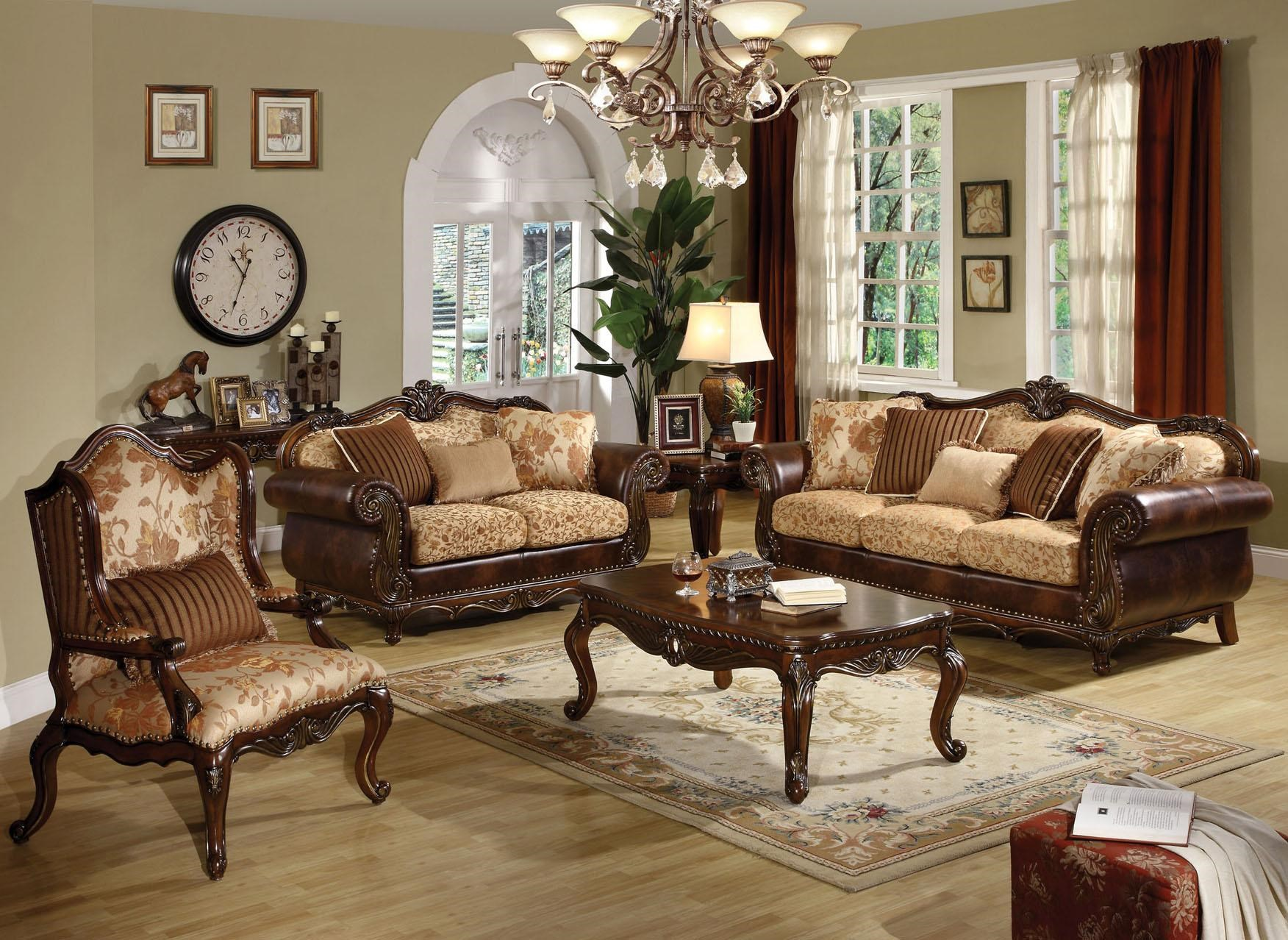 Acme Furniture Remington Stationary Living Room Group   Household Furniture    Stationary Living Room Groups