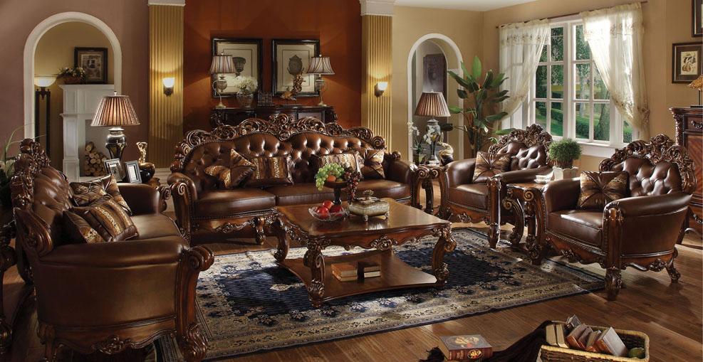 Attrayant Acme Furniture VendomeStationary Living Room Group