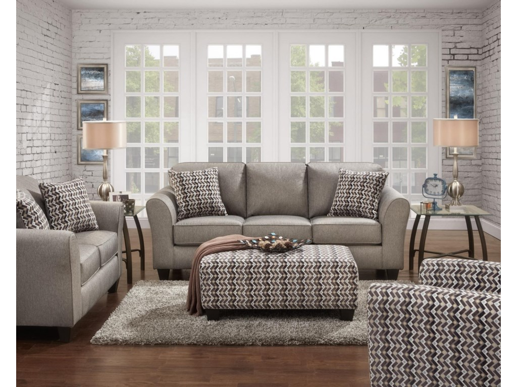 Affordable Furniture 5000Stationary Living Room Group