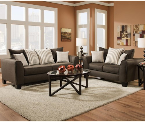Albany 356 Collection Stationary Living Room Group