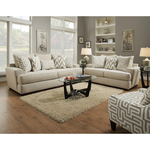 Albany 8686 Stationary Living Room Group