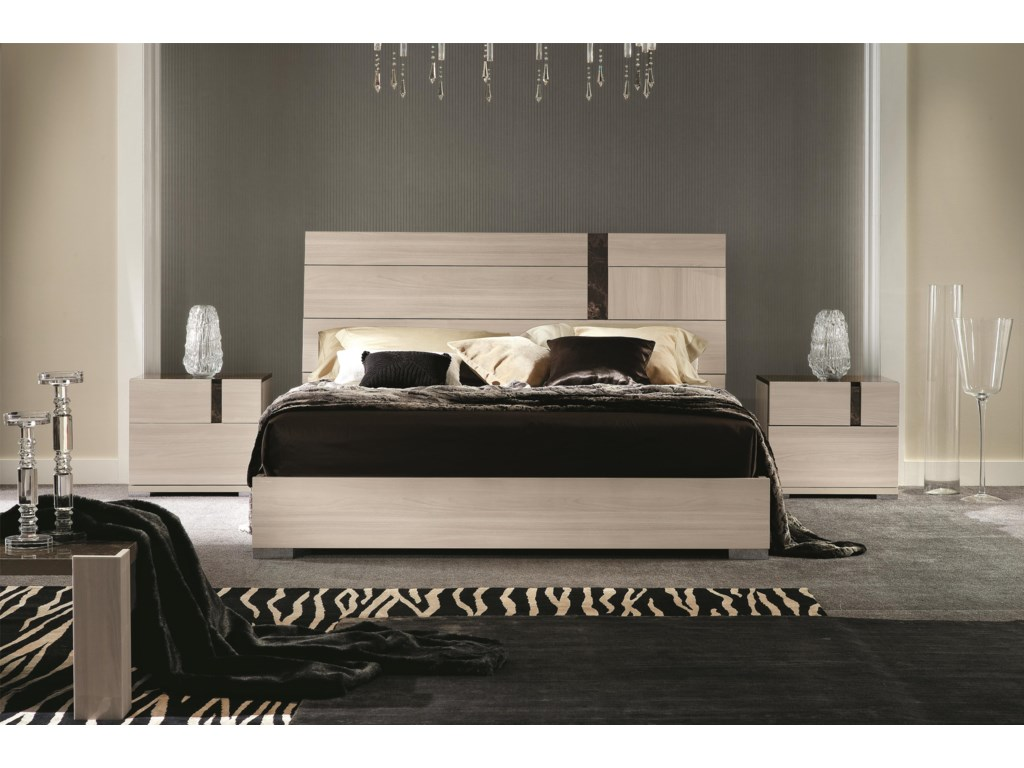 Alf Italia Teodora King Bedroom Group | Stoney Creek Furniture ...