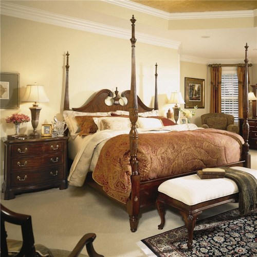 American Drew Cherry Grove 45th King Bedroom Group