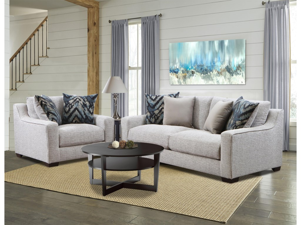 American Furniture 1400Stationary Living Room Group