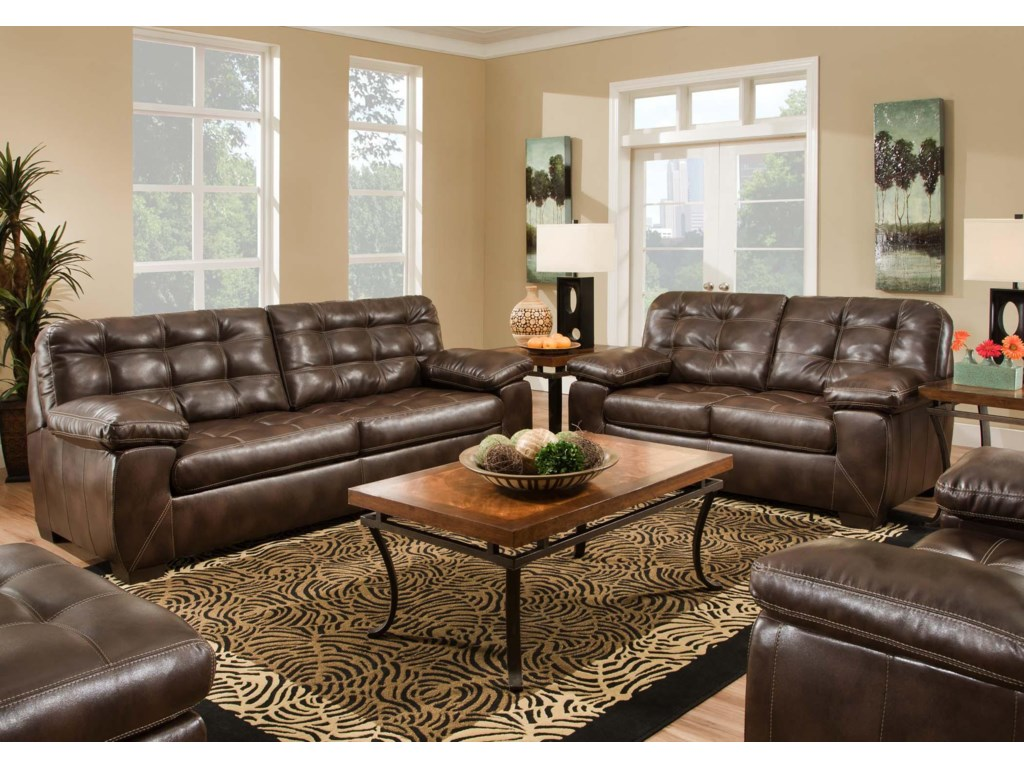 American Furniture 4400Stationary Living Room Group