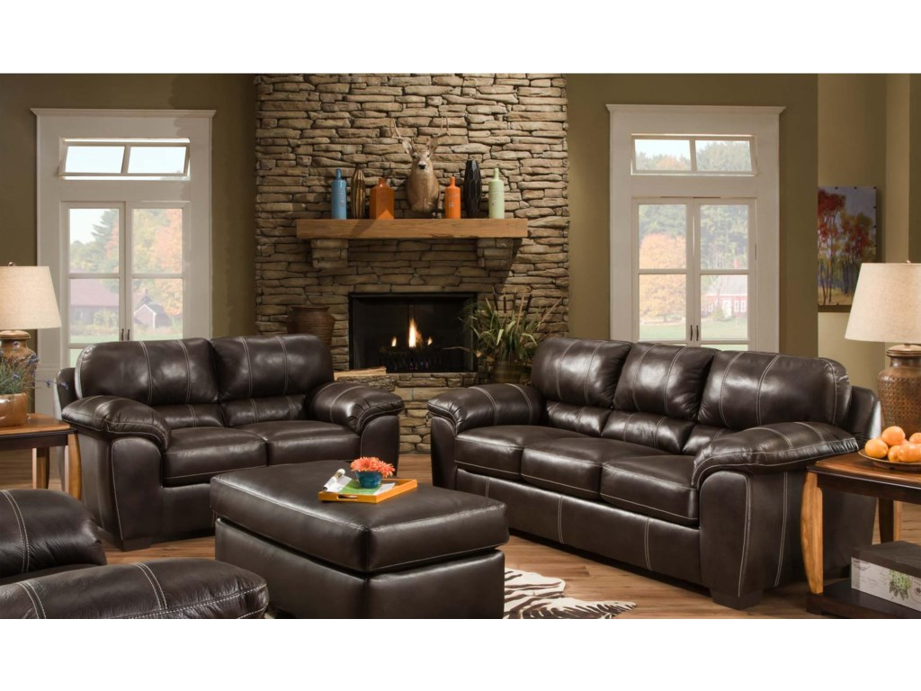 American Furniture 5400Stationary Living Room Group