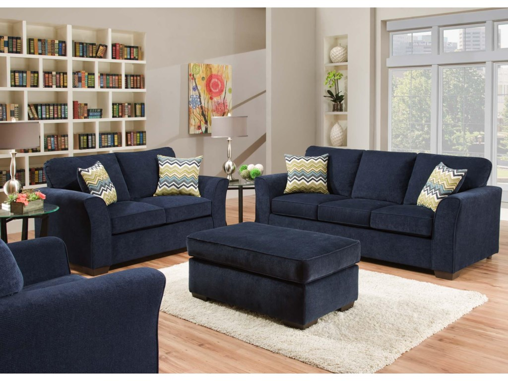 American Furniture 7670 Stationary Living Room Group