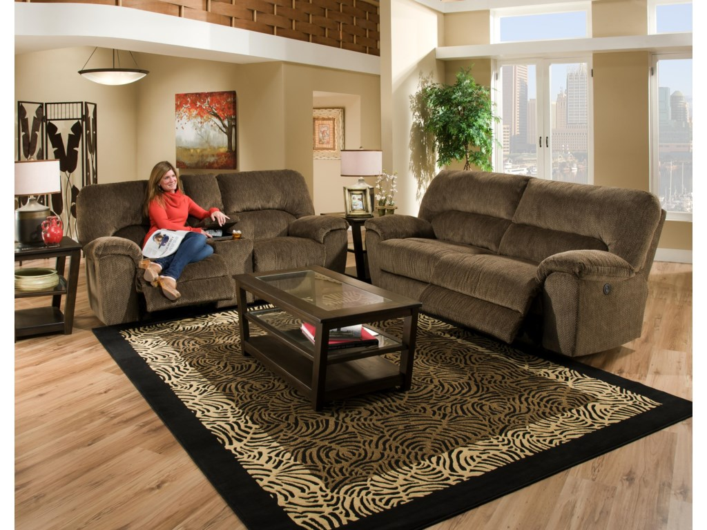 American Furniture AF740Reclining Living Room Group