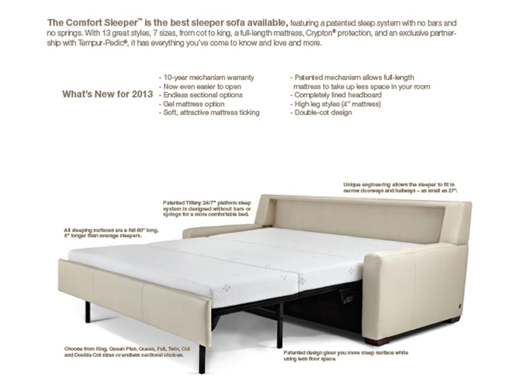 American Leather Cassidy IITwin Sofabed