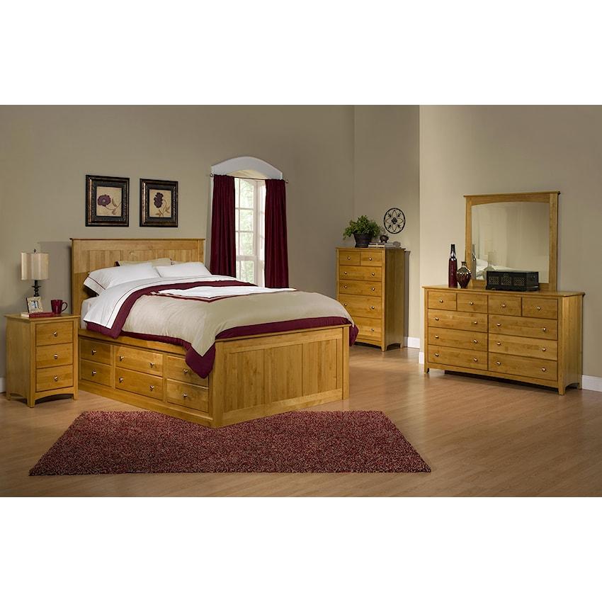 Alder Shaker by Archbold Furniture