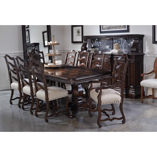 Markor Furniture Collection One Formal Dining Room Group