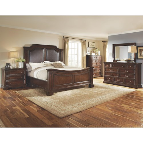 Belfort Signature Edwards Ferry King Bedroom Group