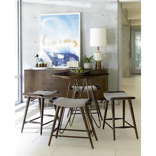 Belfort Signature Urban Treasures Casual Dining Room Group