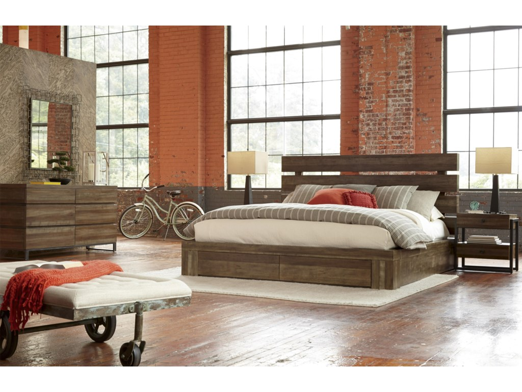 A.R.T. Furniture Inc EpicentersQueen Bedroom Group