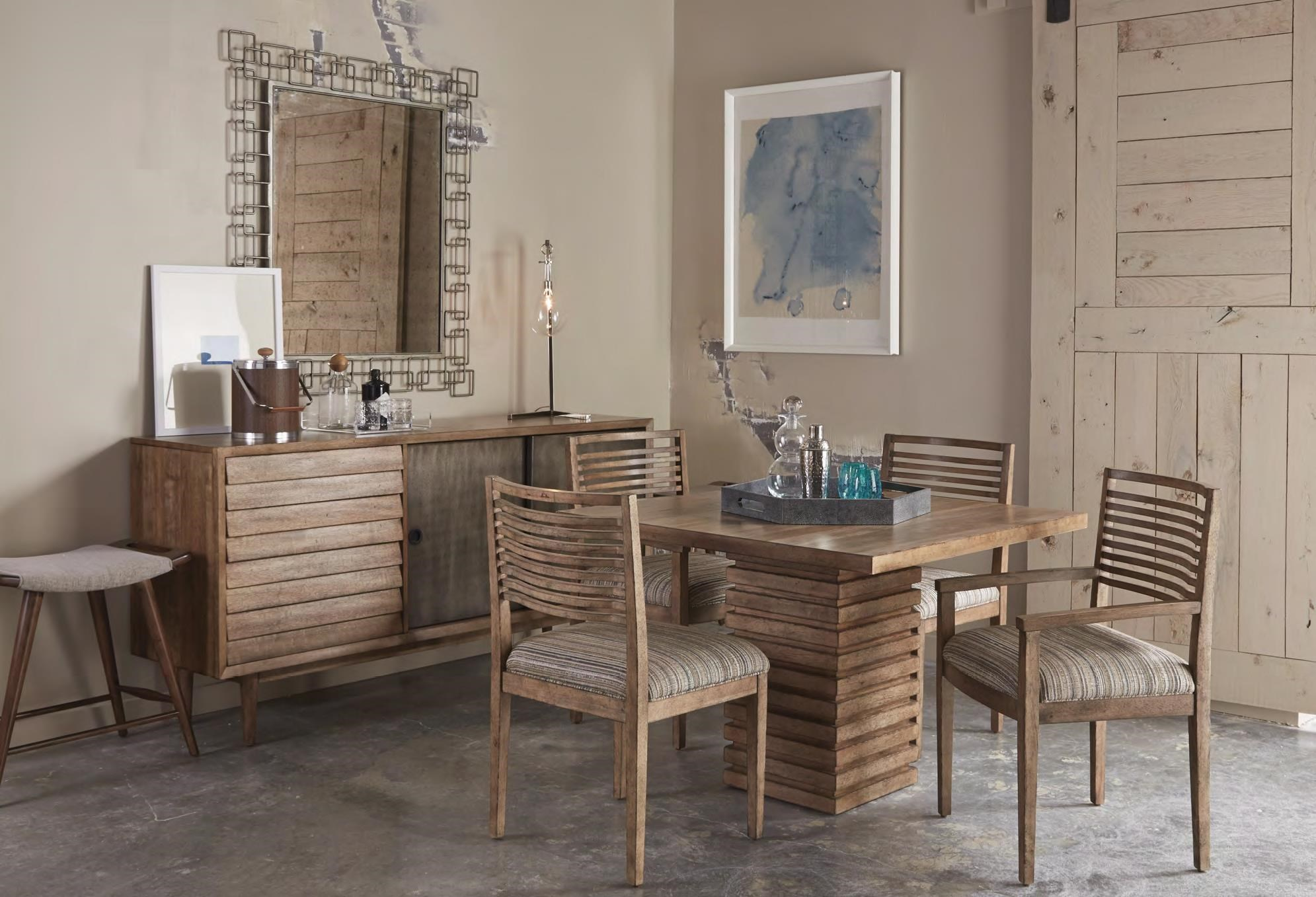 Belfort Signature Urban Treasures Formal Dining Room Group