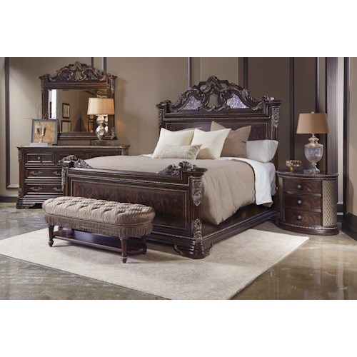 A R T Furniture Inc Gables King Bedroom Group Lindy 39 S