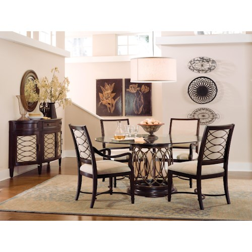 Belfort Signature Bolbrook Formal Dining Room Group