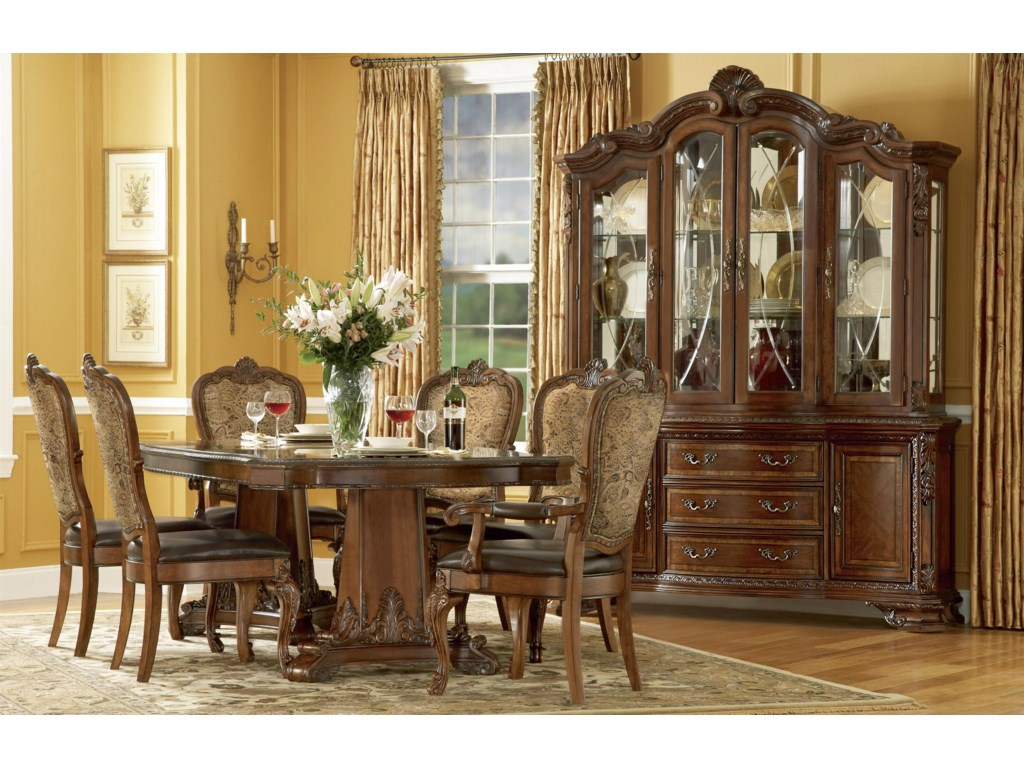 Old World Formal Dining Room Group