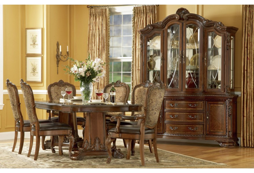 A R T Furniture Inc Old World Formal Dining Room Group Home Collections Furniture Formal Dining Room Groups