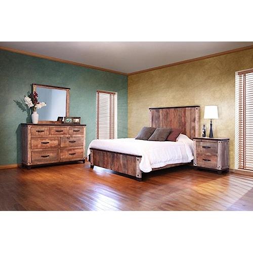 International Furniture Direct Maya Queen Bedroom Group