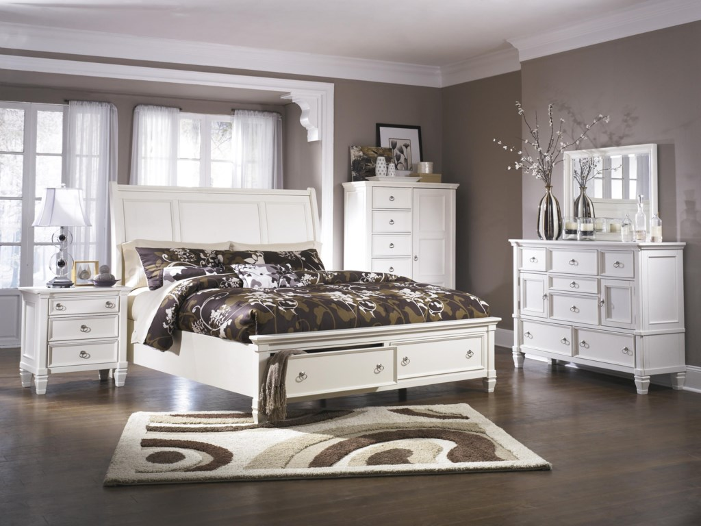 Millennium PrenticeKing Bedroom Group