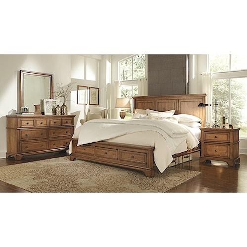 Aspenhome Alder Creek California King Bedroom Group 2