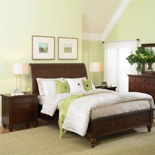 Aspenhome Cambridge Twin Bedroom Group