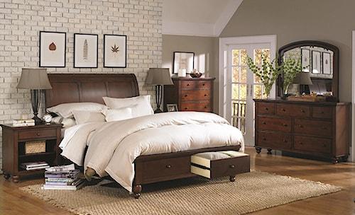 Aspenhome Cambridge California King Bedroom Group