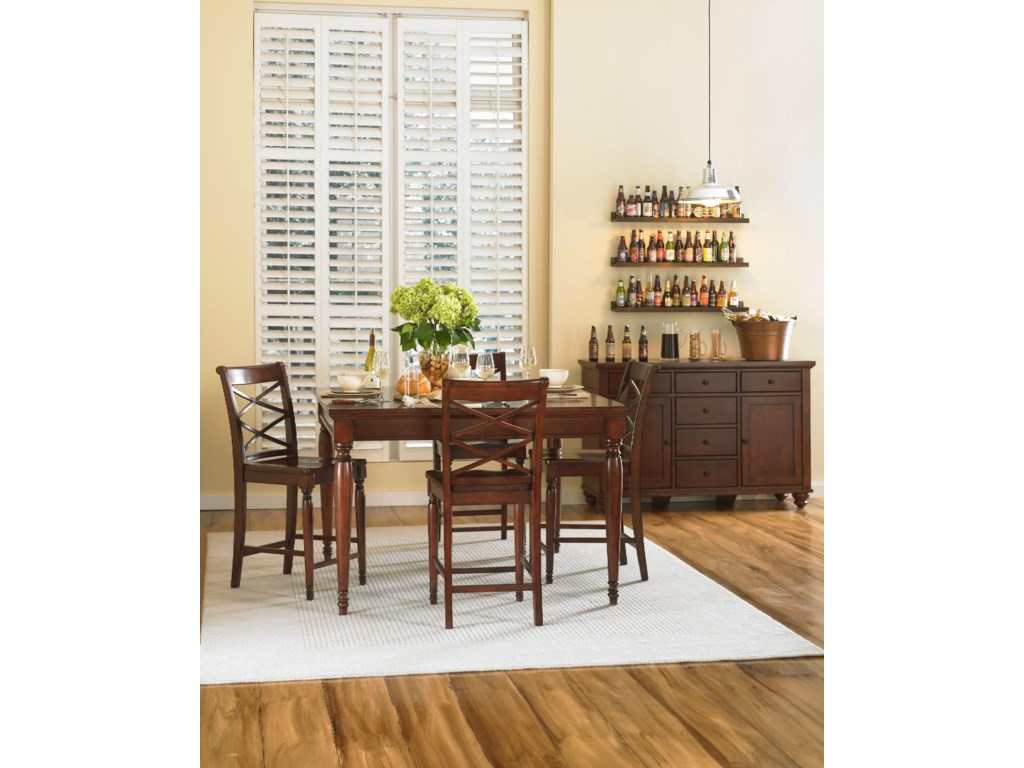 Aspenhome CambridgeCasual Dining Room Group