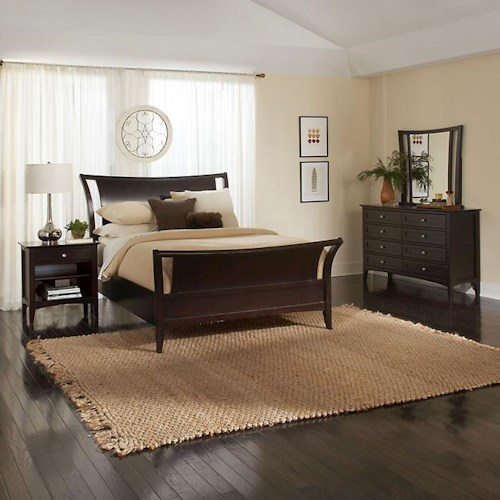 Aspenhome Kensington  Queen Bedroom Group