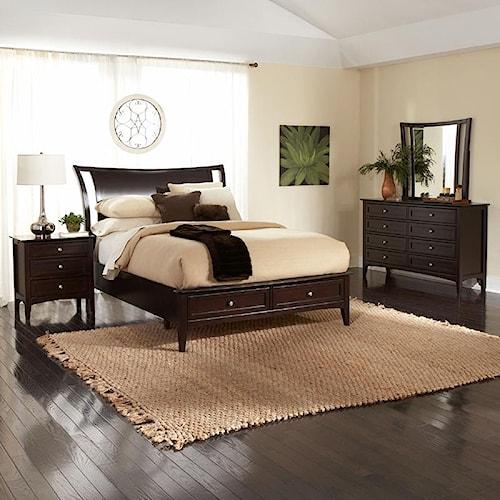 Aspenhome Kensington  California King Bedroom Group