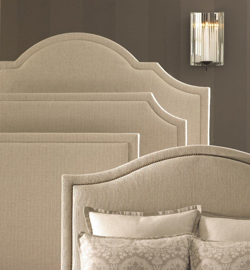 Custom Upholstered Beds Florence By Bassett Wayside