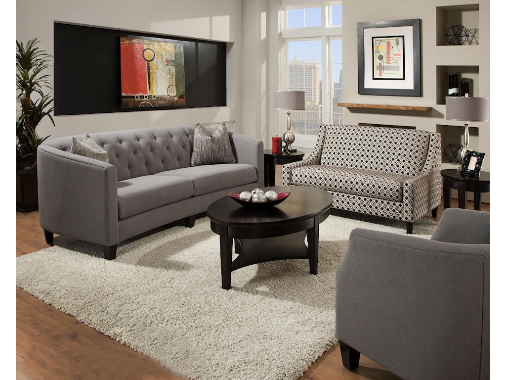 Bauhaus ConnickStationary Living Room Group