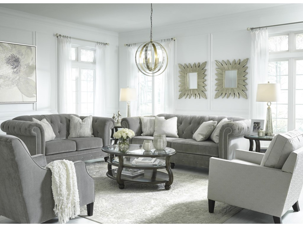 Signature Design By Ashley TiarellaStationary Living Room Group