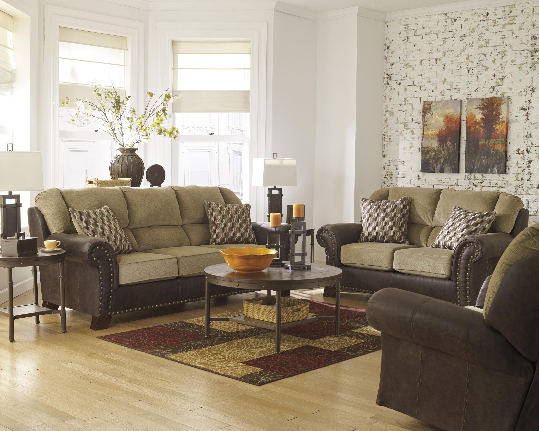 Benchcraft Vandive Stationary Living Room Group   Pedigo Furniture    Upholstery Group