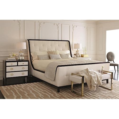 Bernhardt Jet Set California King Bedroom Group