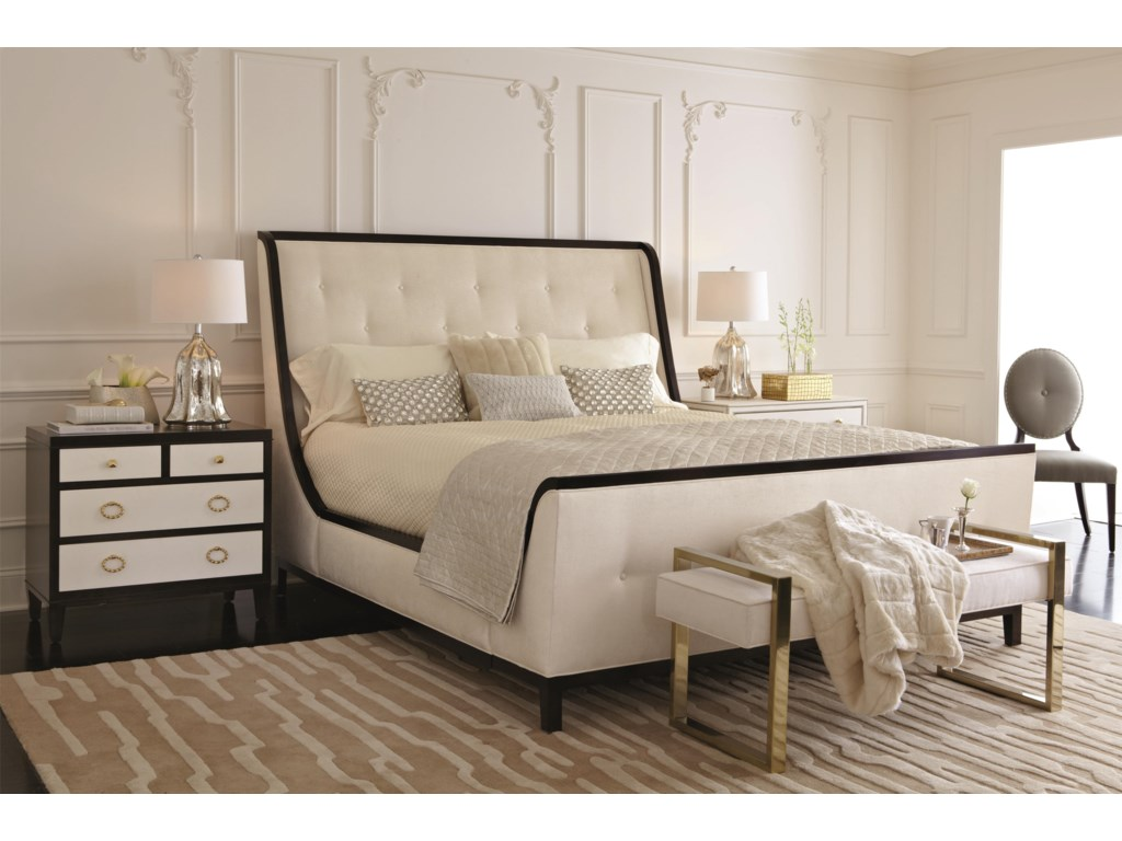 Bernhardt Jet SetQueen Bedroom Group